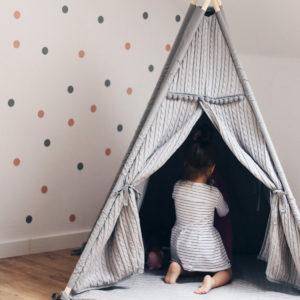 Tipi - modne namioty dla dzieci